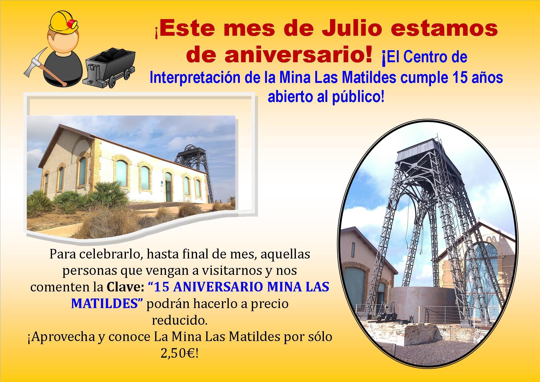 15 Aniversario Apertura Mina Las Matildes